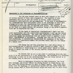 Smith-Department of Transport memo