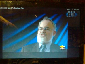 2012.12.23 stanton friedman on youtube, aliens - photo by self