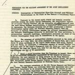 Hillenkoetter-Joint Intelligence Committee memo